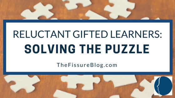 Reluctant Gifted Learners Solving The Puzzle